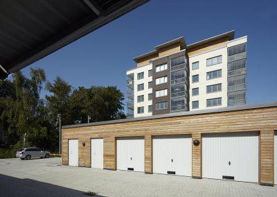 SegePark garage byggnader