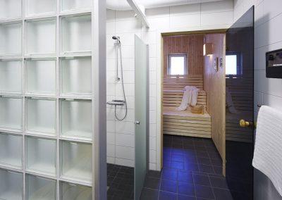 SegePark lägenhet Bastuavdelning
